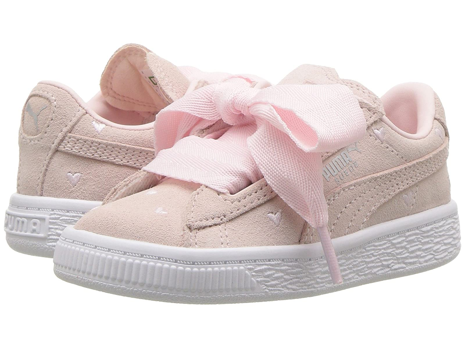 Puma Kids Suede Heart Valentine (Toddler)Cheap and distinctive eye-catching shoes