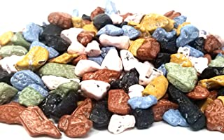 CrazyOutlet Pack - Candy Coated Chocolate Rocks, Bulk Pack, 1 Lb