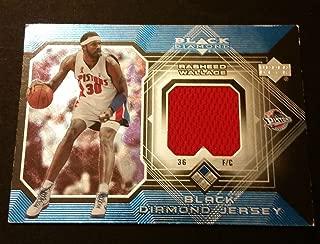 Rasheed Wallace Pistons North Carolina 2005 Upper Deck Jersey Certified JG3