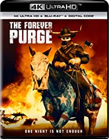 The Forever Purge arrives on Digital Sept. 14 and on 4K, Blu-ray, DVD Sept. 28 from Universal Pictures
