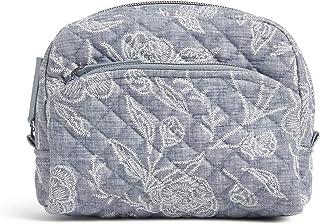 Vera Bradley Women's Signature Cotton Medium Cosmetic Makeup Organizer Bag