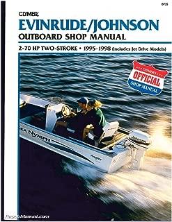 B735 Evinrude Johnson 2-70 HP 2-Stroke Outboard Boat Shop Manual 1995 1996 1997 1998