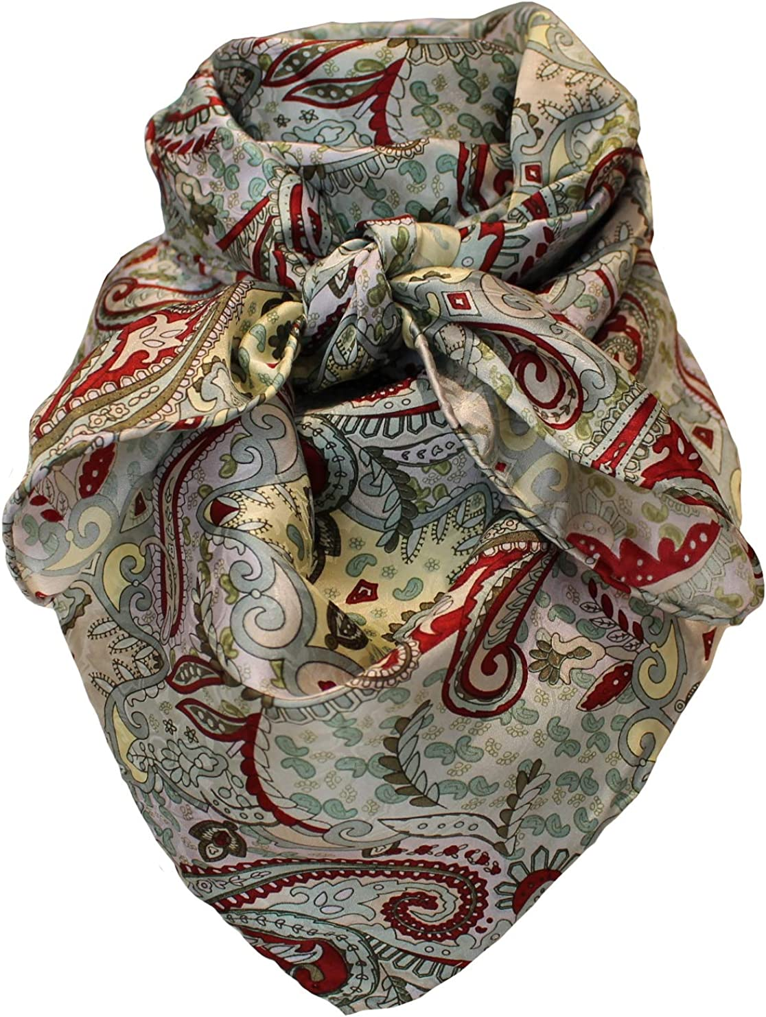 Wild Rag 100% Max 56% OFF Limited price Silk with Burgundy Mint