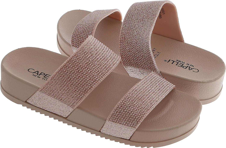 Capelli Max 54% OFF New York Girls Injected Branded goods Molded Sandal Slide