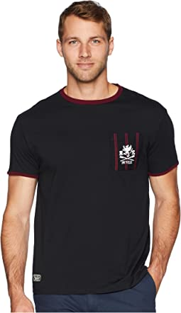 Classic Fit Crew Ringer T-Shirt