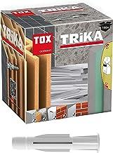 TOX Multifunctionele plug met kraag Trika 7 x 36 mm, pluggen voor bijna alle bouwmaterialen, 100 stuks, 011100081