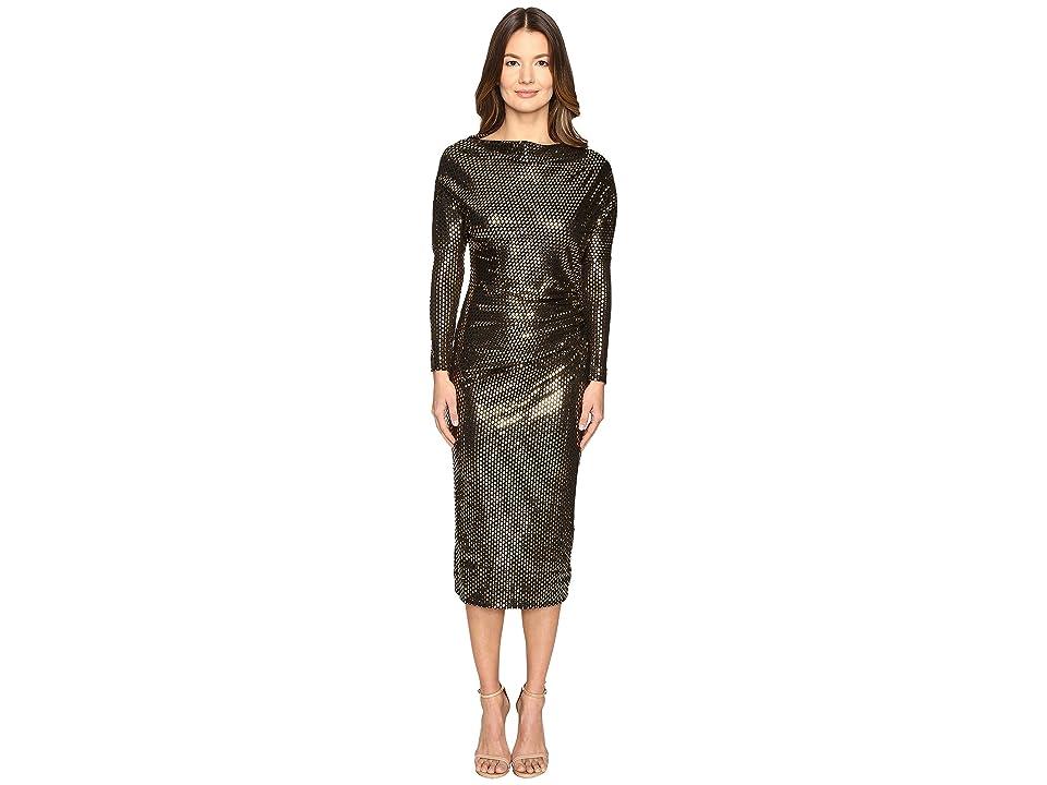 Vivienne Westwood Thigh Dress (Black Laminated) Women