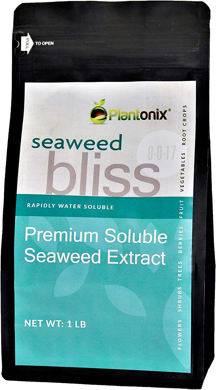 Fixed price for sale Seaweed Bliss Premium OFFicial mail order Soluble Extract lb 1 0-0-17