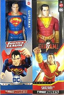 Goofy Hero Vs Very Serious Superhero: Big Figure Pack 2-Pack Superman Vs. Shazam! Movie True Moves Series DC Comics 12