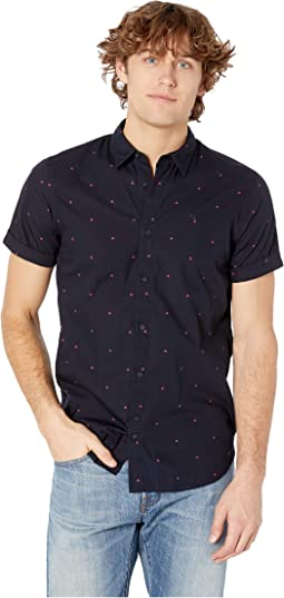 Regular Fit - All Over Printed Short Sleeve Shirt