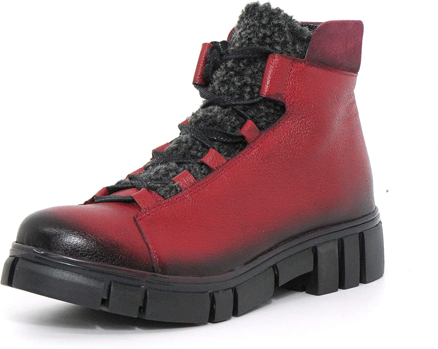 Maciejka Women Ankle Boots red, (red) 03794-23