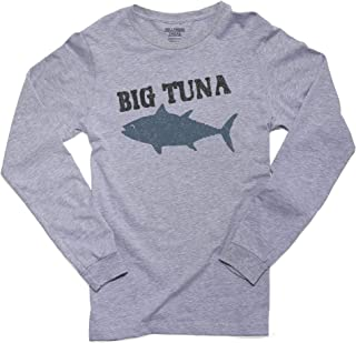 Trendy Big Tuna Graphic Perfect for Office Men's Long Sleeve T-Shirt