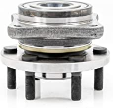 QJZ [1 Piece] 513109 New Front Wheel Hub and Bearing Assembly for Dodge 1990-1996 Dodge Dakota 4WD Model, Rear Wheel Hub and Bearing Assembly for Dodge 1992-1995 Viper