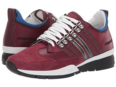 DSQUARED2 251 Runner Sneaker (Bordeaux/Black) Men