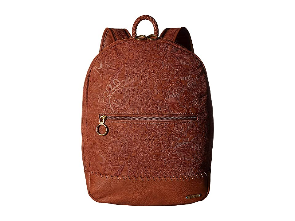 Sakroots Arcadia Piper Backpack (Tobacco) Backpack Bags