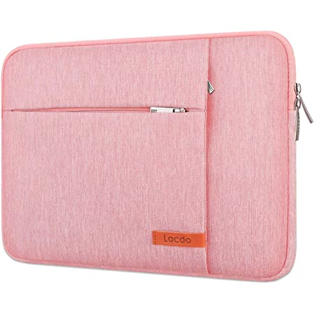 AFANG 11.6 inch Denim Fashion Zipper Linen Waterproof Sleeve Case Bag for Laptop Notebook with A Small Bag for Mouse Color : Khaki Khaki
