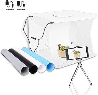 "Emart 14"" x 16"" Photography Table Top Light Box 52 LED Portable Photo Studio Shooting Tent"