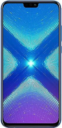 Huawei Honor 8X (64 GB + 4 GB de RAM) 6.5 Pulgadas HD 4G LTE gsm Desbloqueado de fábrica Smartphone – Versión Internacional sin garantía JSN-L23 (Azul)