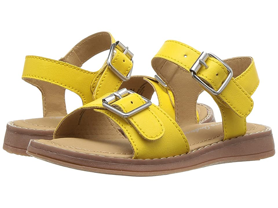 Hanna Andersson Caty (Toddler/Little Kid/Big Kid) (Swedish Yellow) Girls Shoes