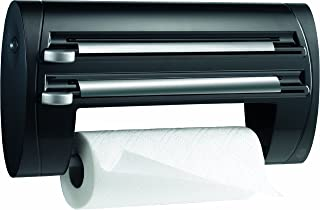 EMSA 509247 Superline 3 - roll Kitchen Dispenser, 40 cm, Black