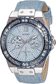 Guess Women's Analogue Quartz Watch with Stainless Steel Bracelet - W0775L1