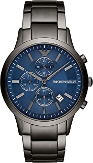 Emporio Armani Mens Quartz Watch, Chronograph Display and Stainless Steel Strap AR11215