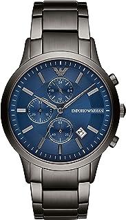 Emporio Armani Orologio Cronografo Quarzo Uomo con Cinturino in Acciaio Inox AR11215
