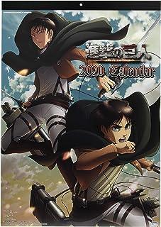 Attack on Titan Shingeki no Kyojin Ataque a los Titanes 2020 Wall Calendar Calendario de Pared Oficial Japón Anime