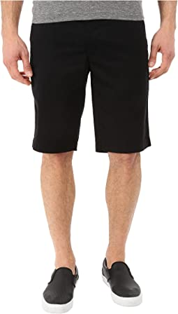 AG Adriano Goldschmied Griffin Relaxed Shorts in Super Black