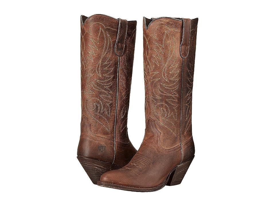 Ariat Shindig (Weathered Tan) Cowboy Boots