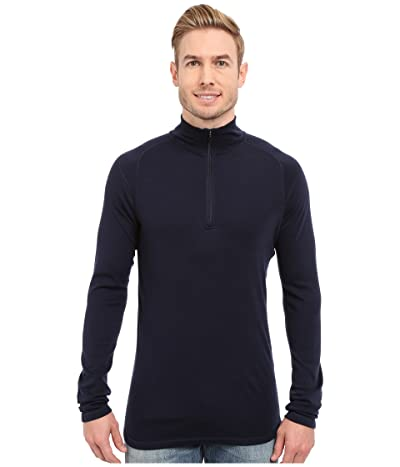 Smartwool NTS Mid 250 Zip T Top (Deep Navy) Men