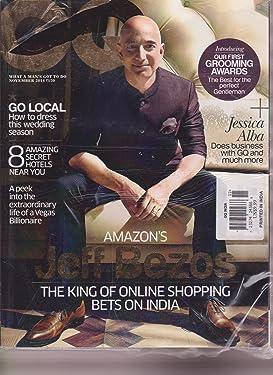 GQ MAGAZINE INDIA NOVEMBER 2014, JEFF BEZOS.
