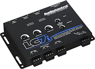 $189 » AudioControl LC7i Black 6-Channel Line Output Converter with Bass Restoration