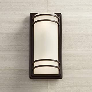 Habitat Modern Outdoor Wall Sconce Fixture Rubbed Bronze 16