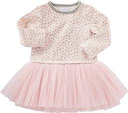 Mud Pie - Leopard Sweatshirt Tutu Dress (Infant/Toddler)