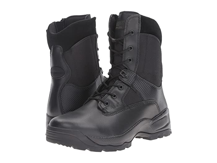 5.11 Tactical  A.T.A.C 8 Side Zip (Black) Mens Work Boots
