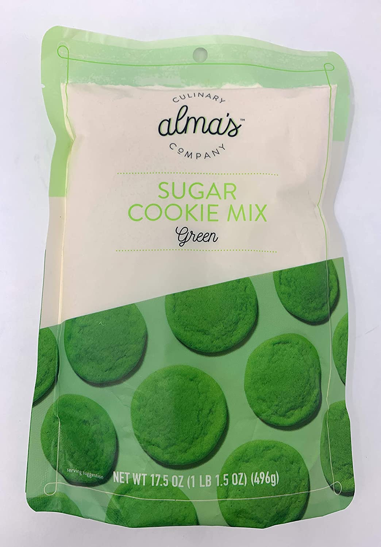 Alma's Culinary Chicago Wholesale Mall Company Sugar Cookie Mix Green 17.5 oz