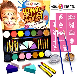 face painting items