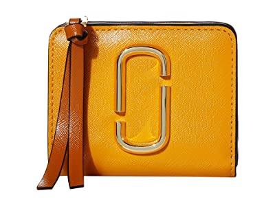 Marc Jacobs Snapshot Mini Compact Wallet (Golden Poppy Multi) Wallet Handbags