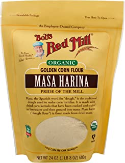 Bob's Red Mill Organic Masa Harina Corn Flour, 24-ounce