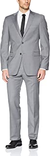 Men's Modern Fit Performance Suit with Stretch
