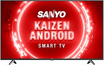 Sanyo 126 cm 50 inches Kaizen Series 4K Ultra HD Certified Android LED TV XT 50UHD4S Black 2020 Model