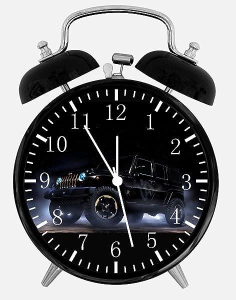 Jeep Wrangler Alarm Desk Clock 3 75 Home Or Office Decor E281 Nice For Gift