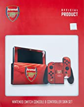 Nc Games 5060435656291 Official Arsenal Fc - Nintendo Switch (console & Controller) Skin/switch - Nintendo_switch