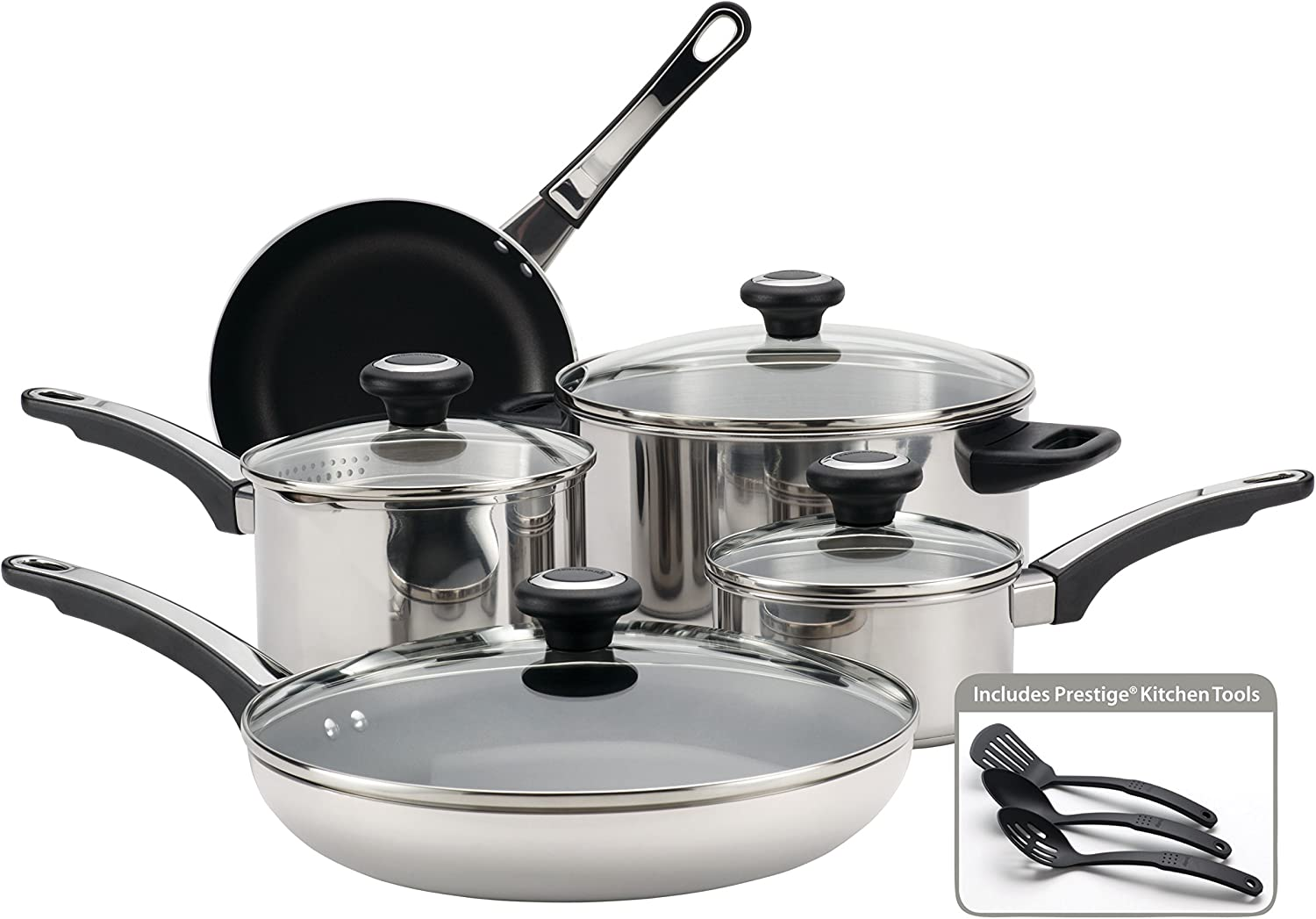 Farberware High Many popular brands Performance Stainless Steel and Cookware Pa Pots 2021new shipping free