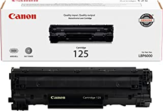 Canon Original 125 Toner Cartridge - Black