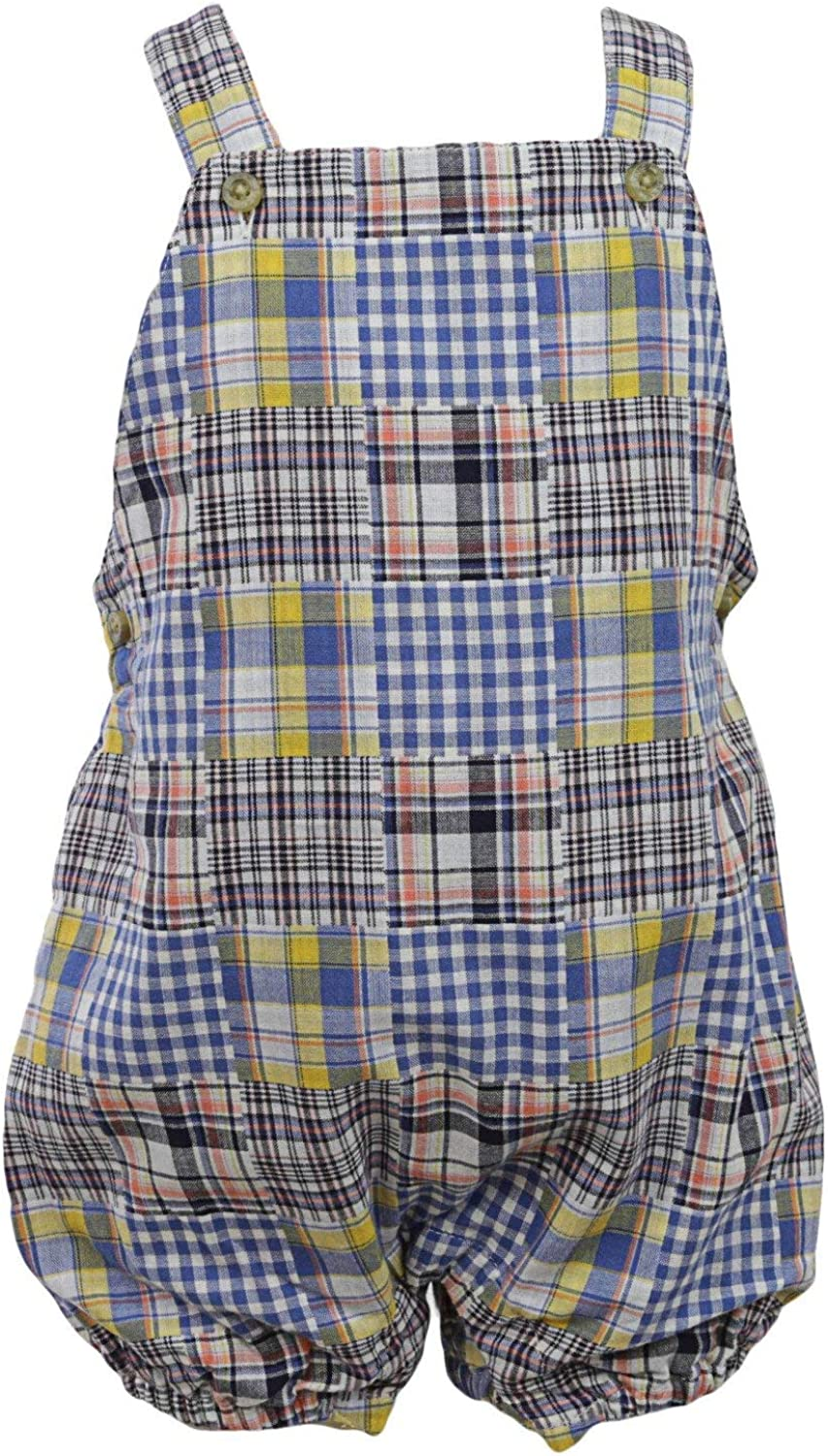 Janie and Jack Patchwork Overall