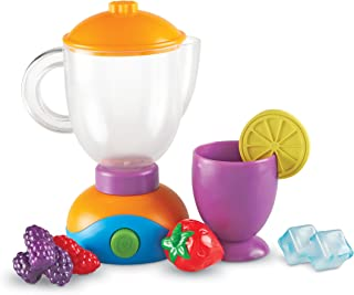 Learning Resources New Sprouts Smoothie Maker!, Imaginative Interactive Toddler Role-Play, 9 Pieces, Ages 2+