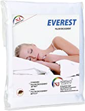Everest Supply Premium Plus Pillow Protector Encasement Water Proof Hypoallergenic Bedbug Proof Dustmite Proof Machine Washable Zippered Superior Comfort- Pack of 2, King 20 by 37 inch