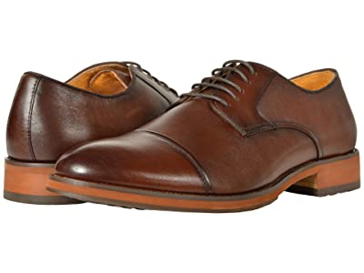 Florsheim Blaze Cap Toe Oxford (Brown Smooth) Men